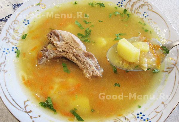 гороховый суп рецепт простой рецепт