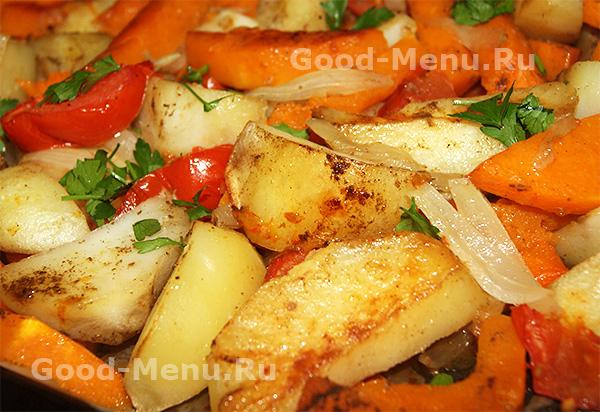 блюда из картошки в духовке рецепты