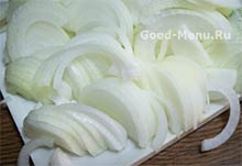 Лук для картошки с грибами