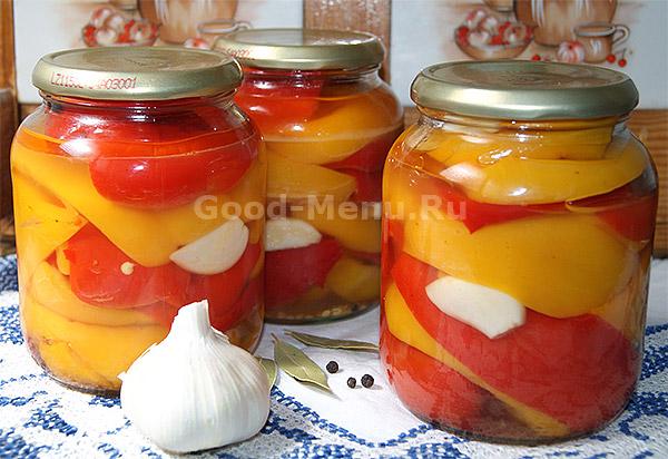 рецепт перцы маринованные