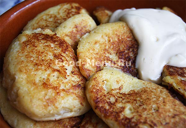 Картофельные драники - рецепт