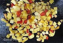 Картошка для овощного рагу