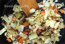 Морковь и капуста для овощного рагу