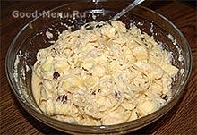 Тесто для творожной запеканки с макаронами