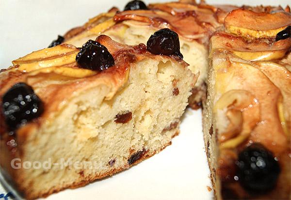 Пирог с творогом - рецепт