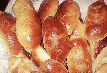 Пирожки из дрожжевого теста в духовке