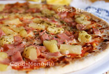Начинка для пиццы с ананасом