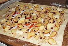 Яблочная начинка для штруделя