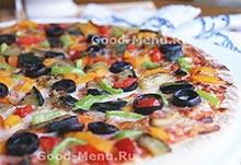Овощная начинка для пиццы