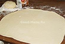 Курник - раскатываем тесто