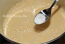 Блины на кефире - пищевая сода