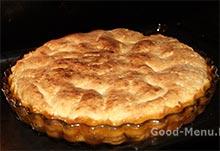 Пирог тарт Татен в духовке