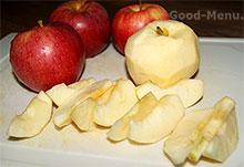 Яблоки для пирога Татен