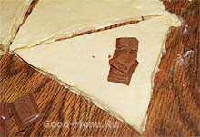 круассаны с шоколадом