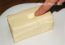 Торт Монастырская изба - масло для теста