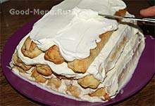 Торт Монастырская изба - третий слой