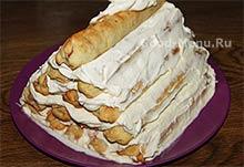 Торт Монастырская изба - последний слой