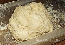 Торт Монастырская изба - песочное тесто