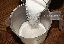 Сахар для заварного крема