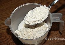 Мука для заварного крема