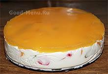 Торт Битое стекло с глазурью