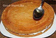 Торт Клубника со сливками - пропитка