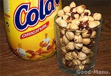 Лесные орехи и какао для нутеллы