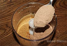 Нутелла - кладем какао