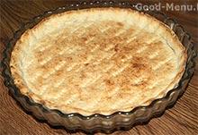 Яблочный пирог - готовый корж
