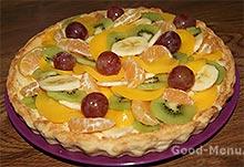 Пирог из фруктов