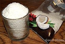 Кокосовая стружка для торта Баунти