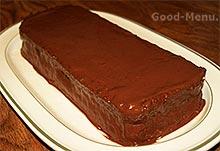 Торт Баунти покрываем шоколадом