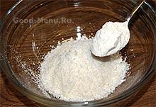 Торт Баунти - кокос и мука