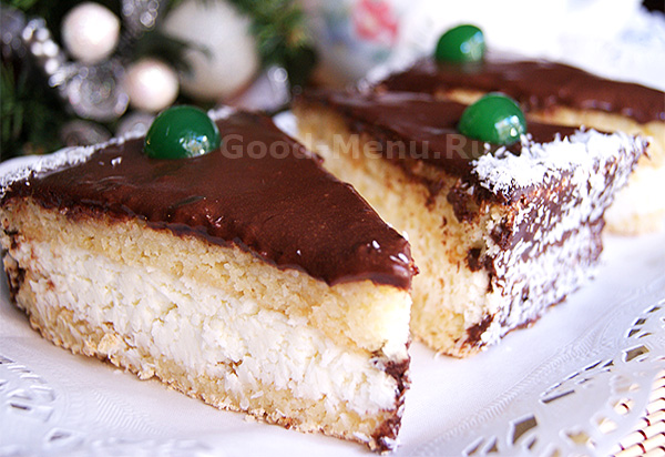 Торт Баунти - рецепт