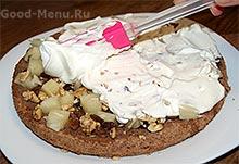 Торт панчо - сливочный крем
