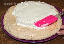 Делаем торт из безе и крема