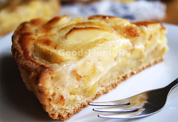 Цветаевский яблочный пирог - рецепт