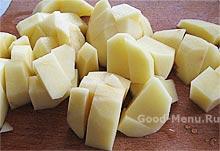 Картошка для рассольника с перловкой