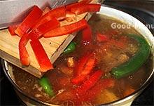 Шурпа - сладкий болгарский перец
