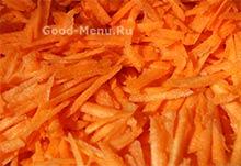 Морковь для тушеных кабачков