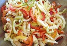 Салатный перец соломкой для лечо