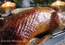 Утка с апельсинами , пошаговый рецепт с фото
