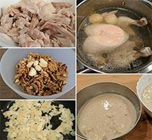 Цыпленок по-грузински – кулинарный рецепт
