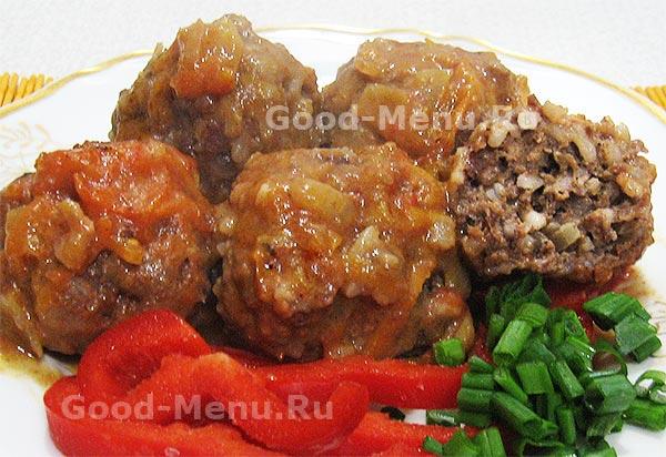Мясные тефтели с подливкой рецепт фото — photo 7