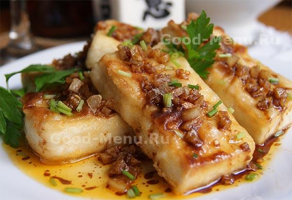 рецепт с сыром тофу