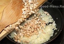 Шампиньоны с чесноком – кулинарный рецепт
