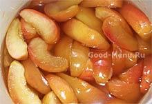 Яблочное варенье на