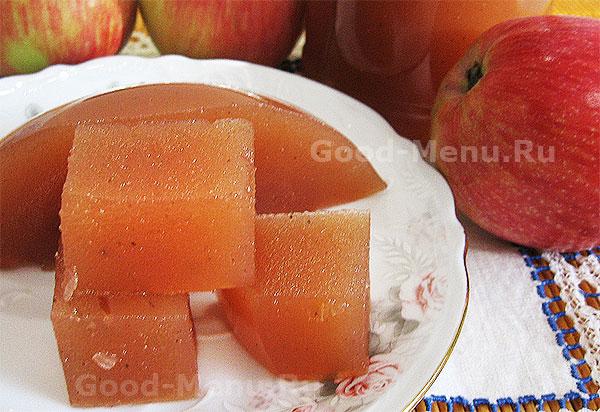 как сварить повидло яблочное