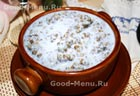 Пшенная каша с грушей и изюмом, пошаговый рецепт с фото
