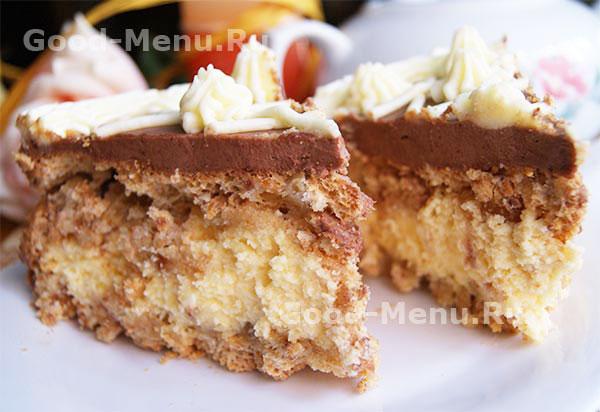 Испечь коржи для торта рецепт с фото пошагово